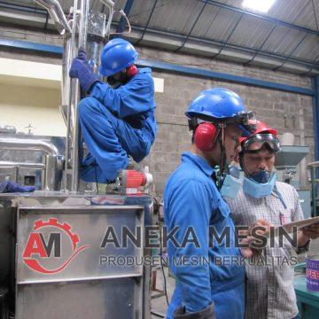 Proses Pembuatan Mesin Spray Dryer
