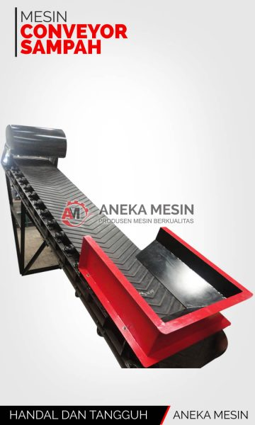 mesin conveyor sampah