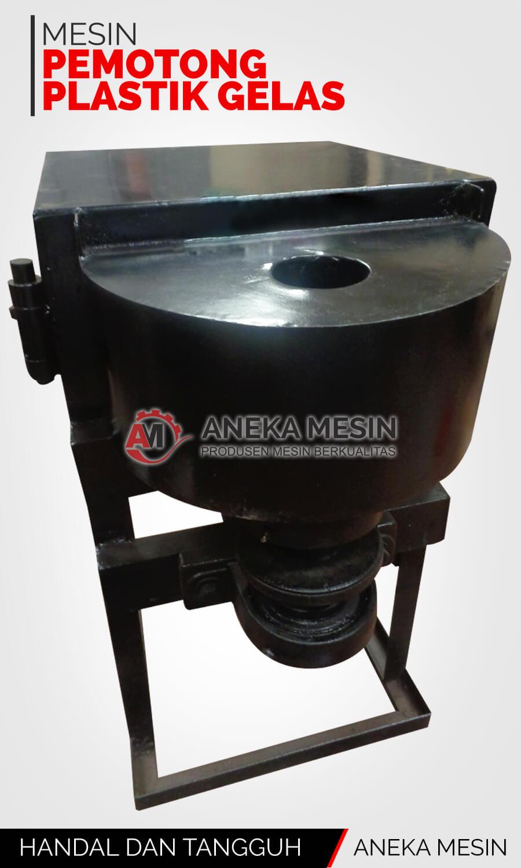 mesin pemotong plastik gelas