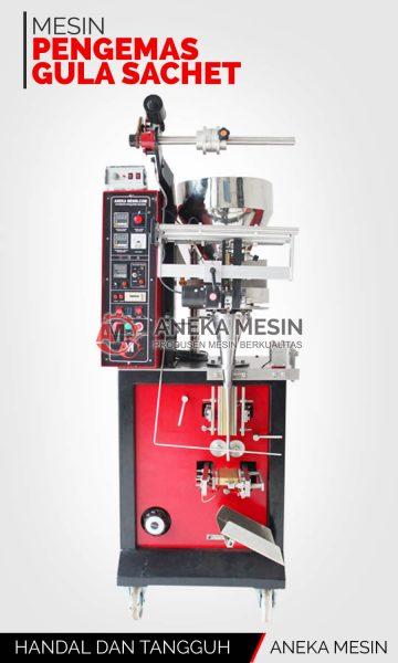 mesin pengemas gula sachet