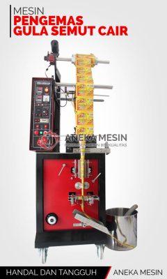 Mesin pengemas gula semut cair