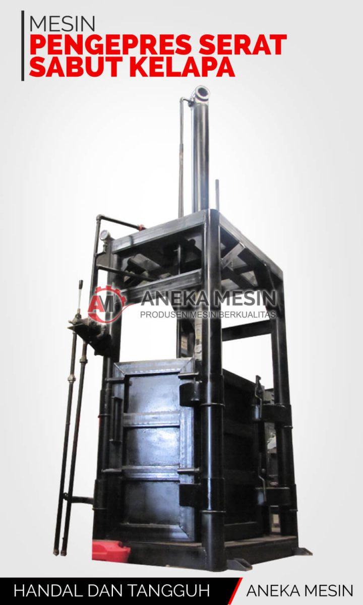 mesin pengepres serat sabut kelapa
