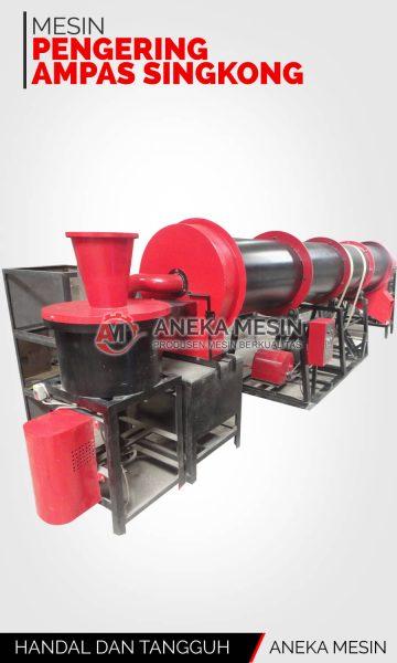 pengering-ampas-singkong-rotary-dryer