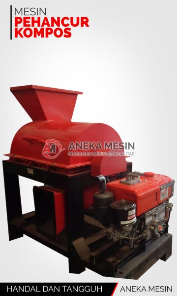 mesin penghancur kompos