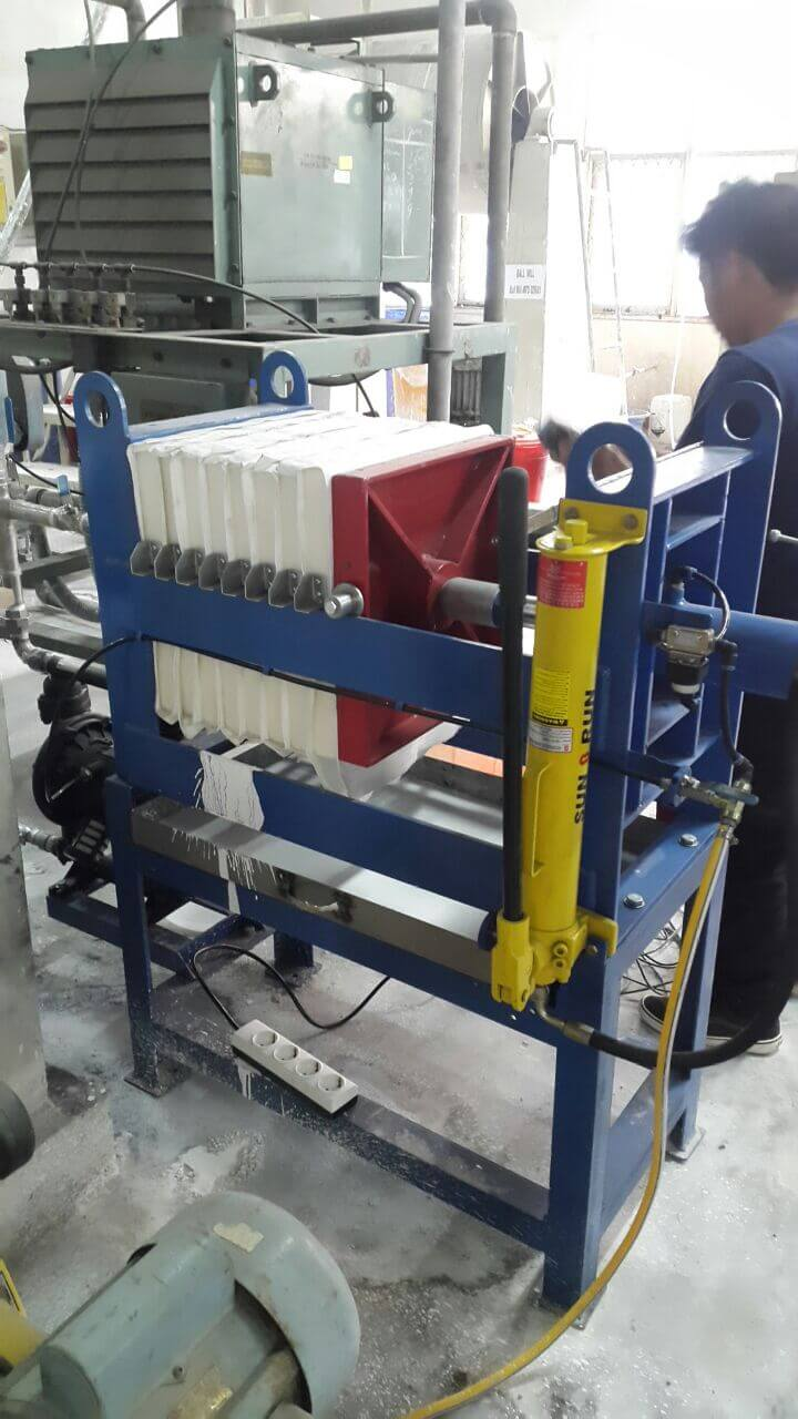 mesin filter press