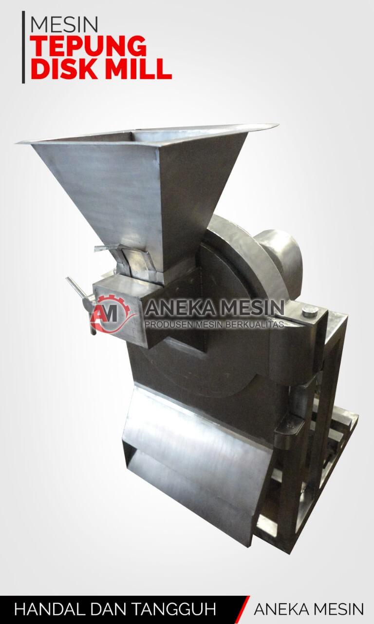 Mesin Tepung Disk Mill