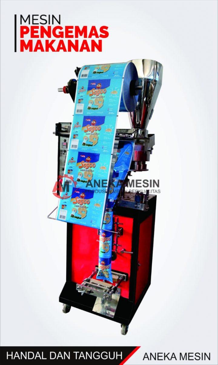 mesin pengemas makanan otomatis