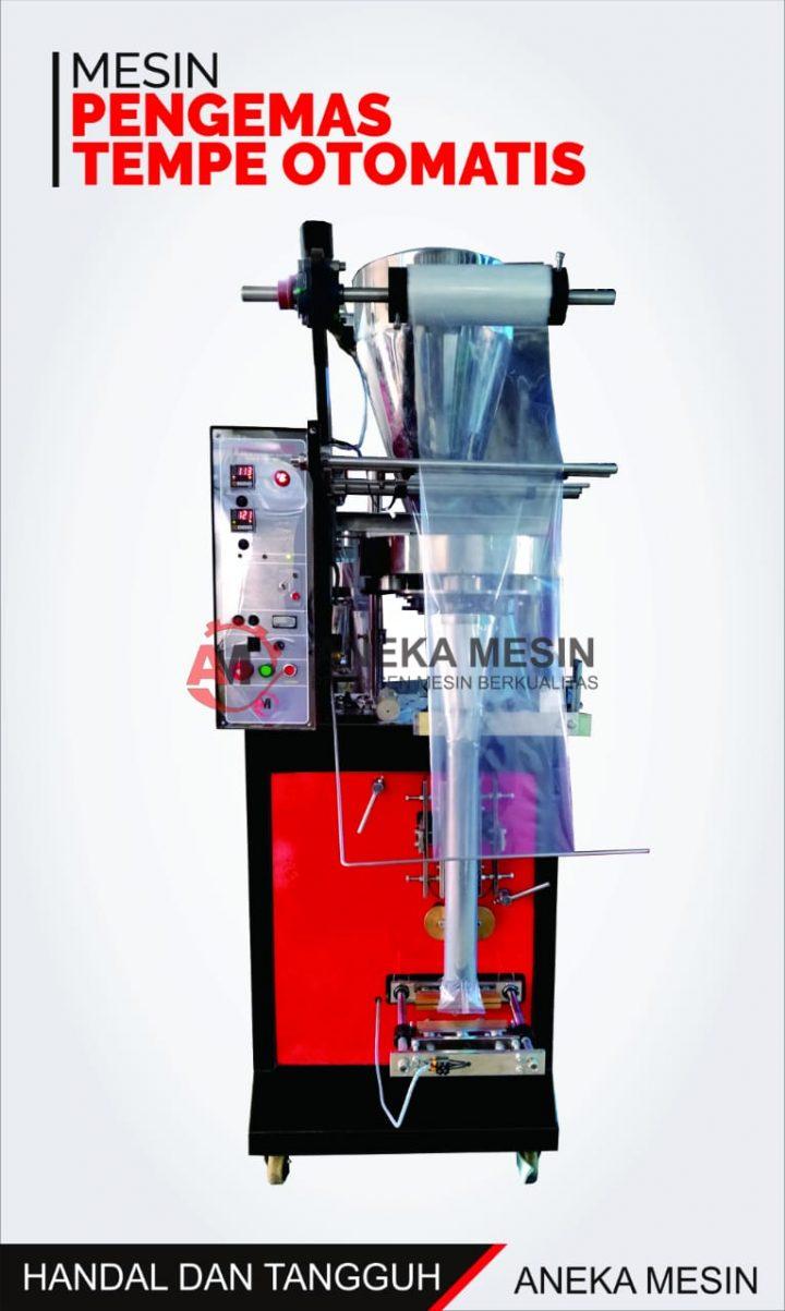 mesin pengemas tempe