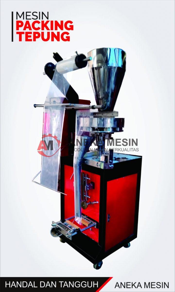 mesin packing tepung otomatis