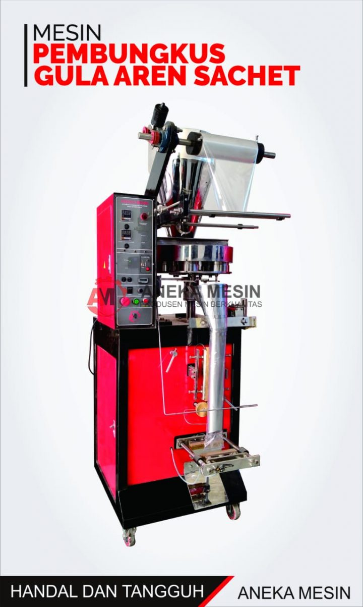 mesin pembungkus gula
