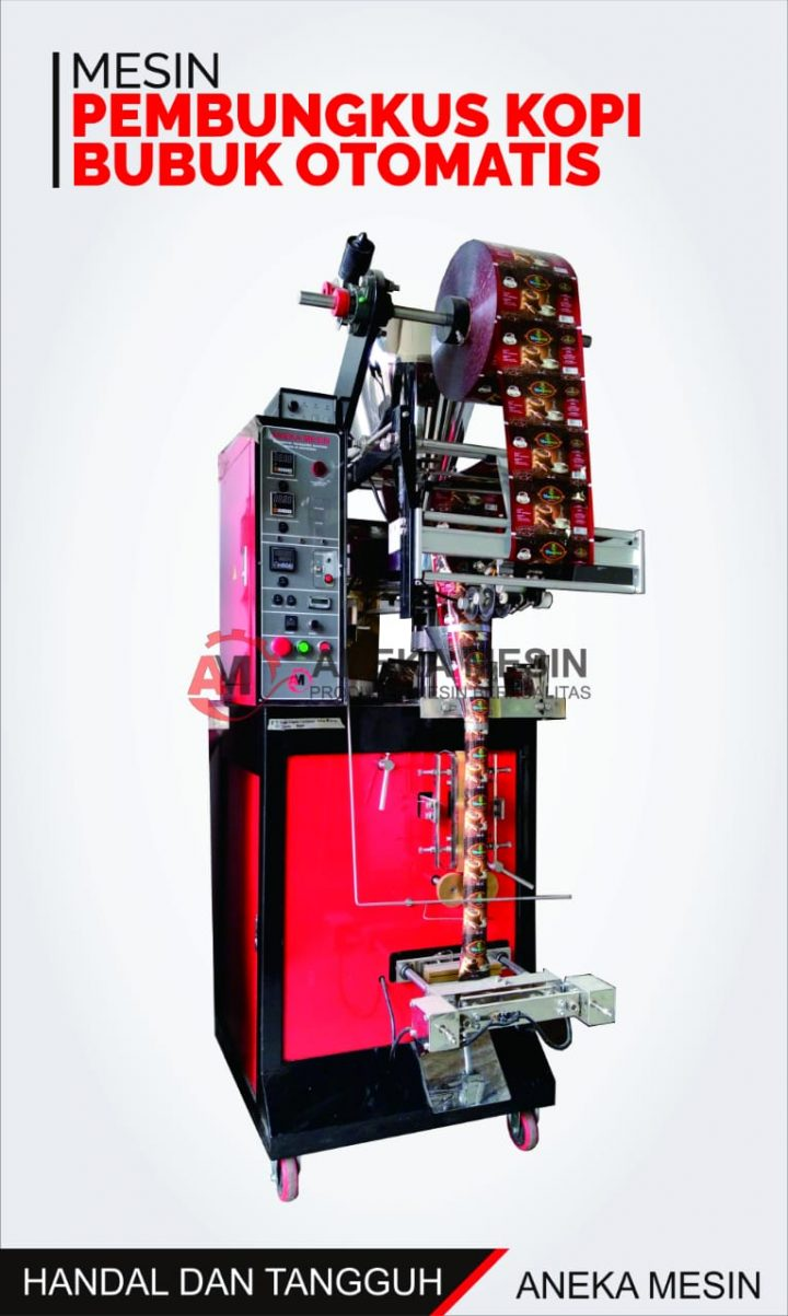 mesin pembungkus kopi