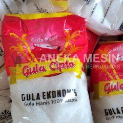 Alat Pengemas Gula Pasir Menunjang Bisnis Dagang